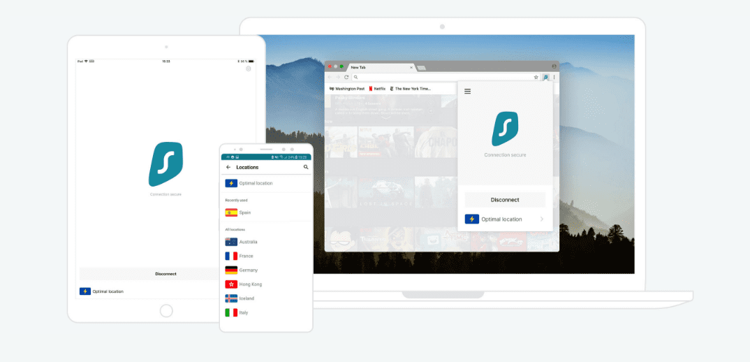SurfShark Apps