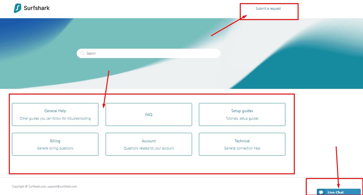 SurfShark FAQ Section