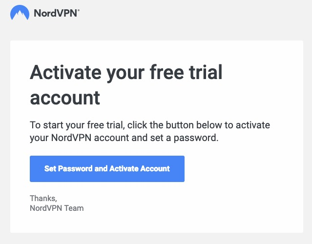 Activate Free Trial