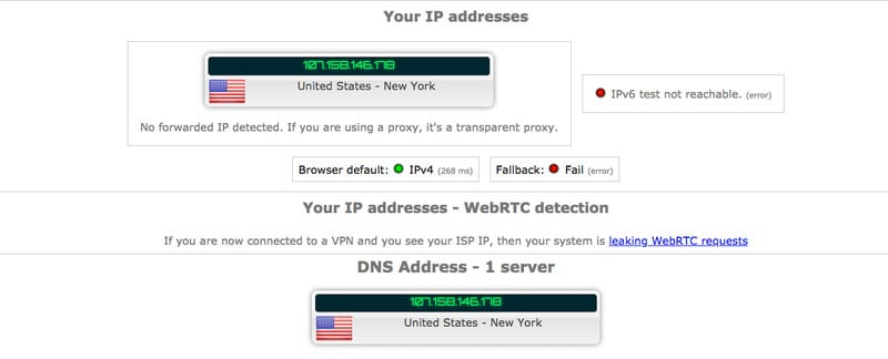 IP Leak Hotspot Shield