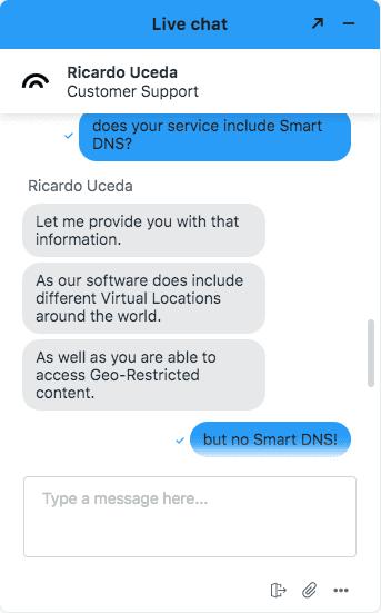 Smart DNS 1 Hotspot