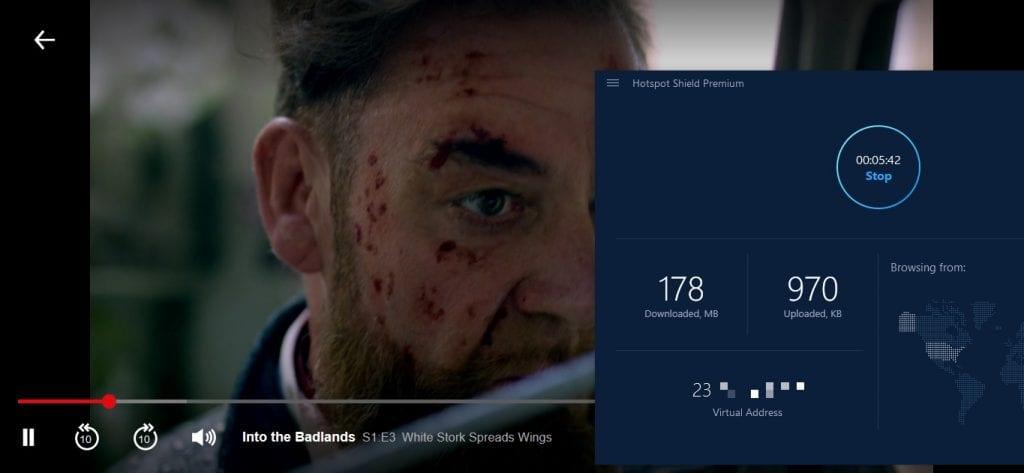 US Netflix Hotspot Shield