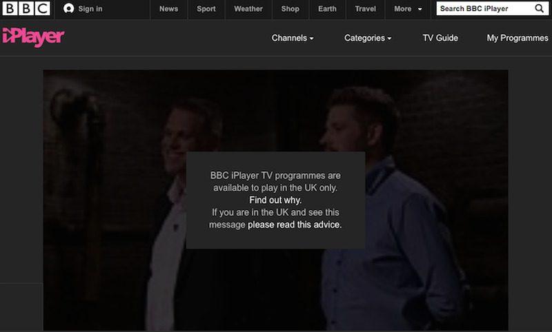 BBC iPlayer Error 2