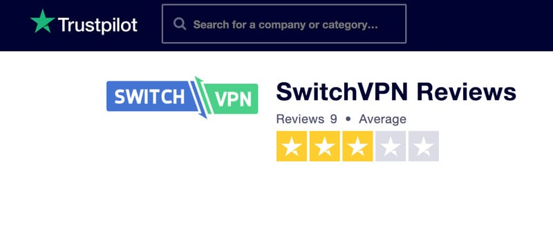Trustpilot Switch