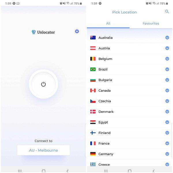 Android Unlocator Servers