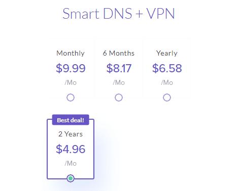 Unlocator VPN DNS