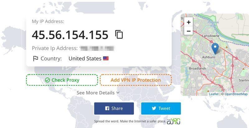 VPNGuru IP
