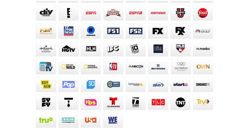 PS Vue Channels
