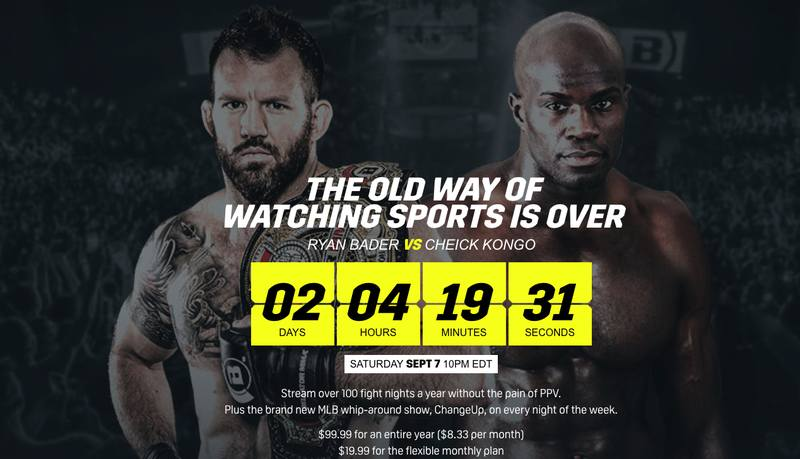 DAZN US Bellator 226