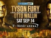 How to Watch Tyson Fury vs. Otto Wallin Live Online