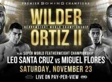 How to Watch Deontay Wilder vs. Luis Ortiz 2 Live Online
