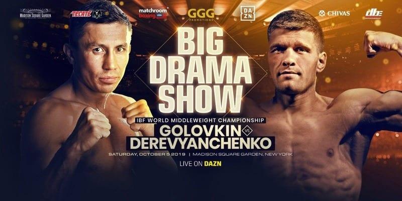 How to Watch Golovkin vs. Derevyanchenko