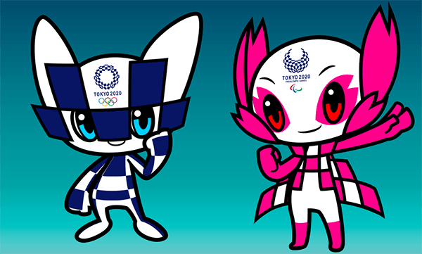 2020 Tokyo Olympic Games Mascots