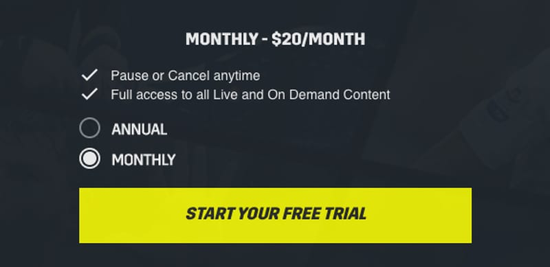 DAZN Canada Subscription 1