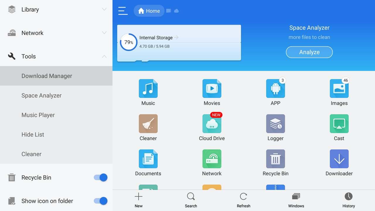 ES File Explorer Download Manager