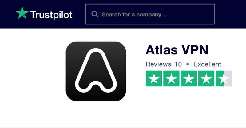 Atlas VPN Trust Pilot