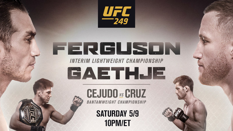 How to Watch UFC 249 Live Anywhere
