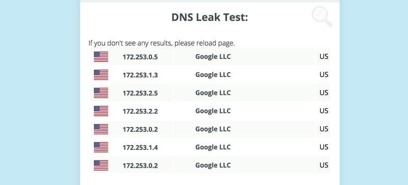 Astrill DNS Leak