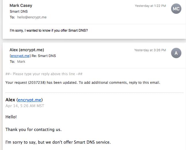 Encrypt Me Email