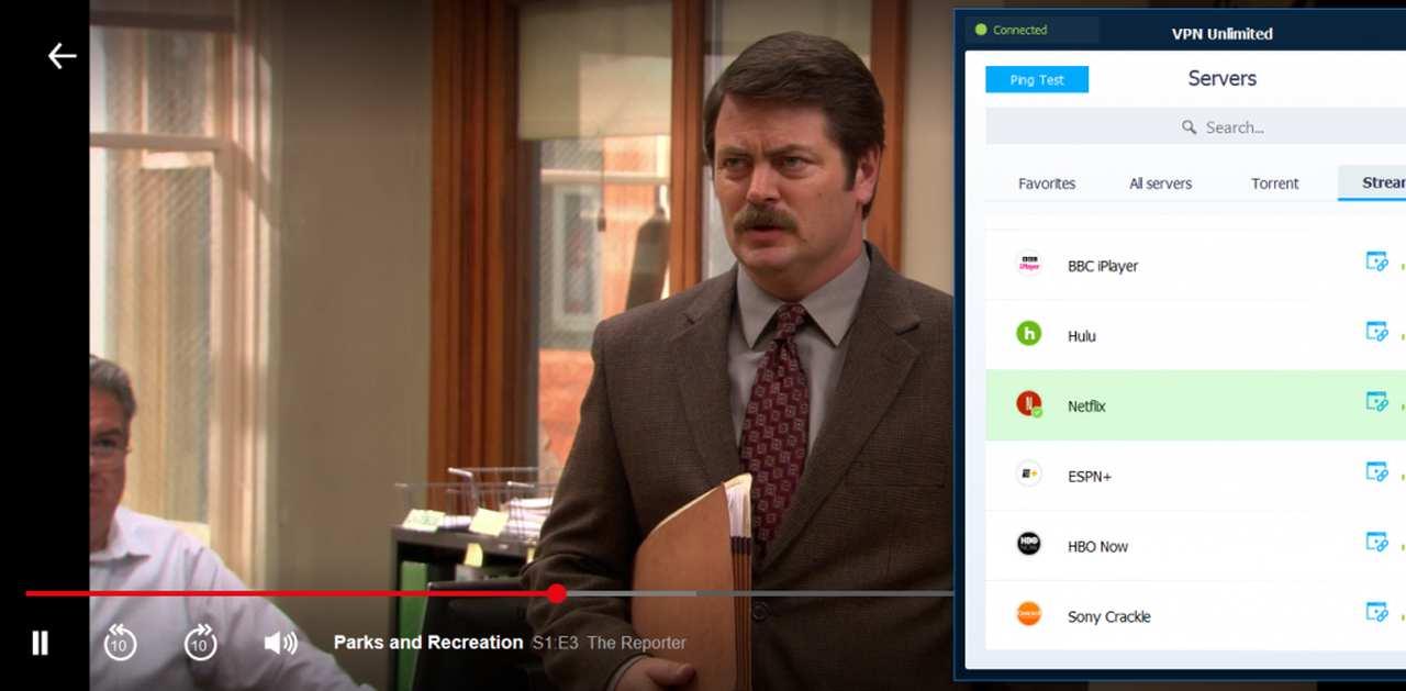 VPN Unlimited Netflix