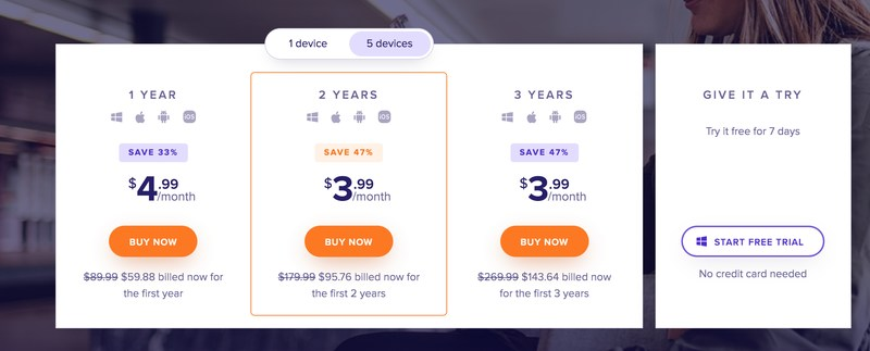 Avast Pricing 2