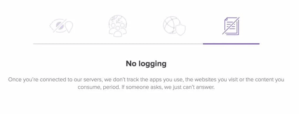 No Logging