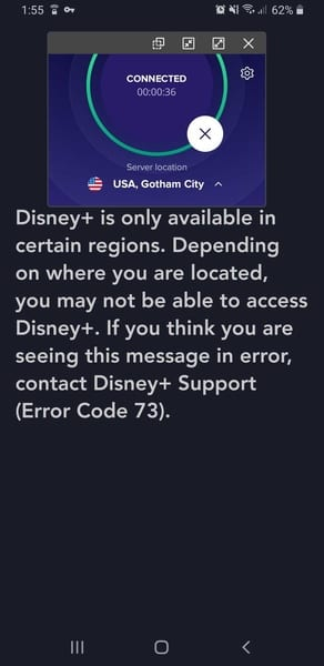 SecureLine Disney