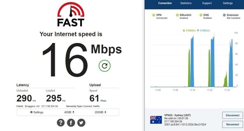 OVPN Australian Server