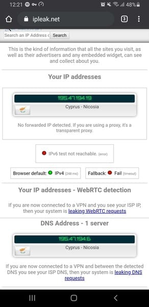 Ookla Leak Test