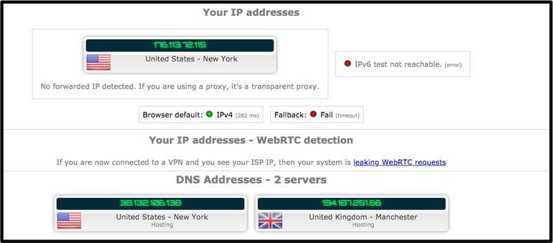 ZenMate Actual DNS Leak