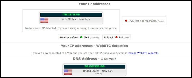 ZenMate DNS Leak