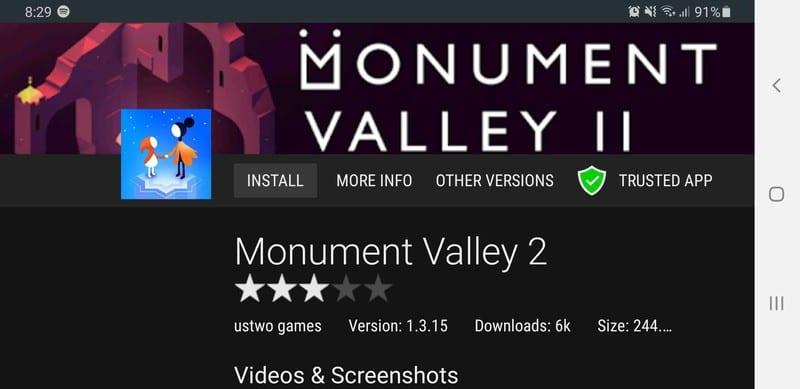 Monument Valley 2 Aptoide