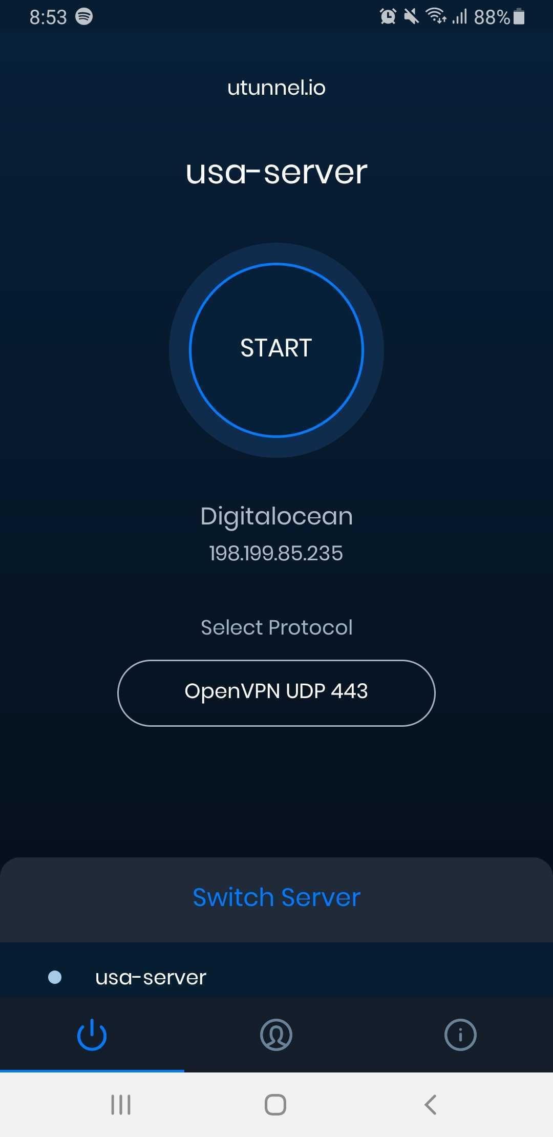 UTunnel VPN App 1