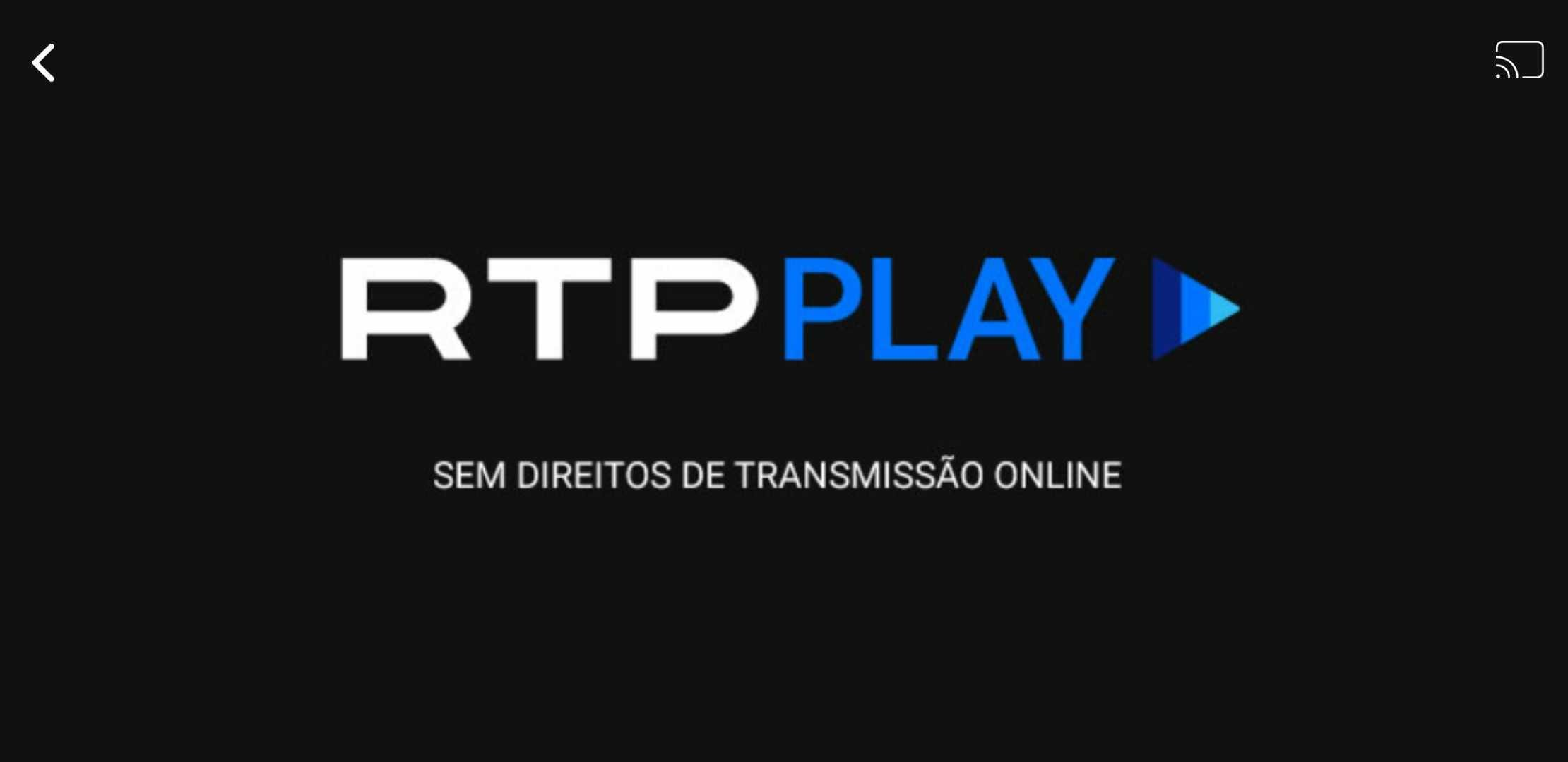 RTP Play Error