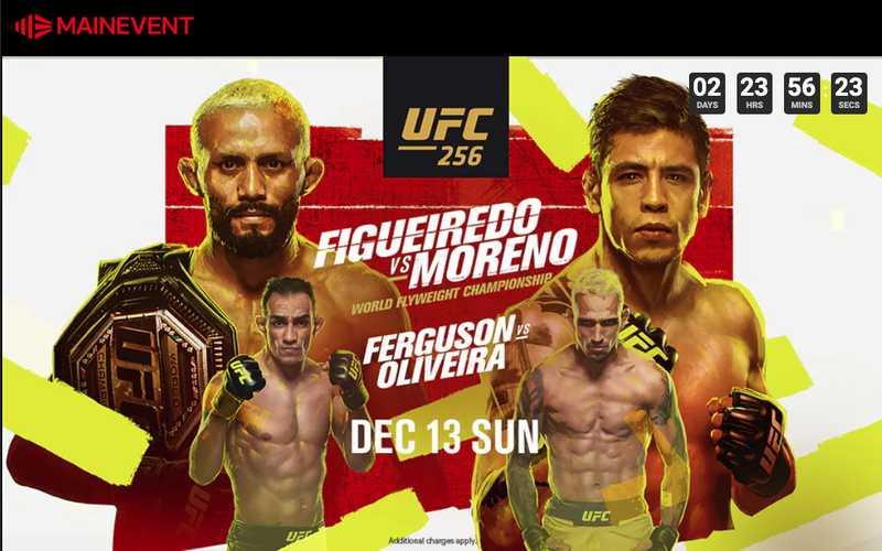 UFC 256 Australia