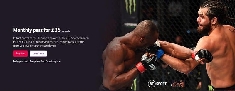 UFC 256 UK