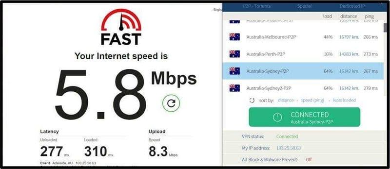 VPNArea Australia